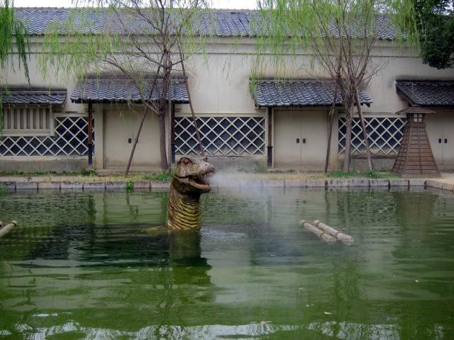東映太秦映画村の特撮プール