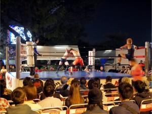 九州産業大学プロレス1