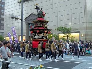 八代妙見祭神幸行事2