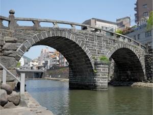 日本最古の眼鏡橋