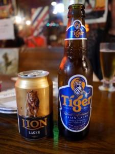 タイガーとライオンラガー