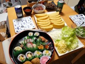 タコス&寿司パーティ